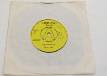 "Beatles (The) TWIST AND SHOUT - PROMO  (Lingasong) 1977 UK RARE 7"" LIVE STAR CLUB 1962 NEAR MINT"